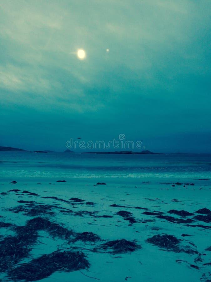 Strand, Blau lizenzfreie stockfotografie