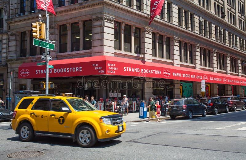 The Strand Bookstore stock image
