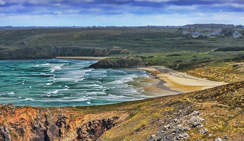 Strand In Bretagne Stock Fotografie