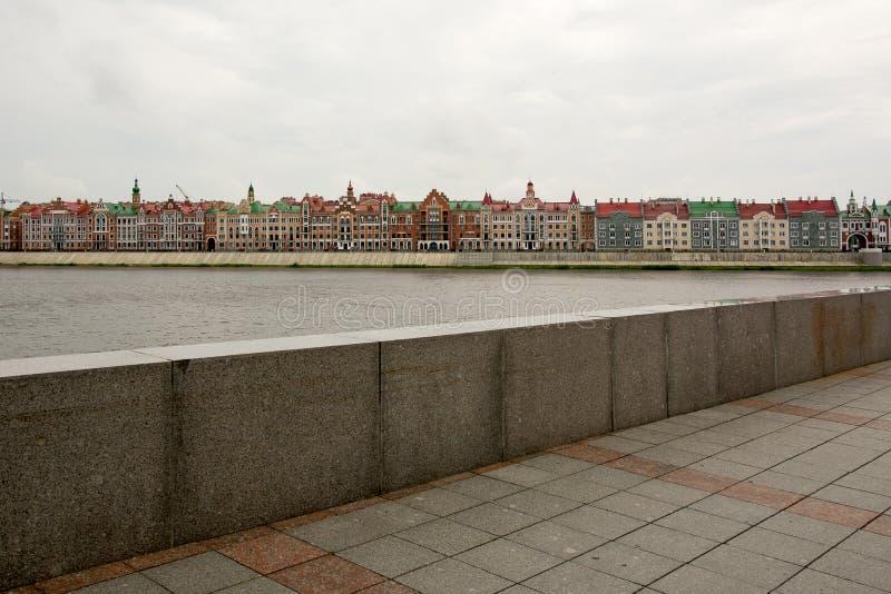 Strand Bruges i Yoshkar-Ola royaltyfri foto
