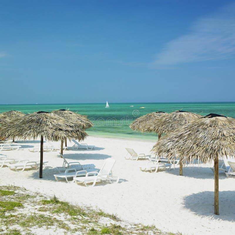 strand cuba lucia santa royaltyfri fotografi