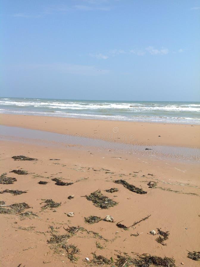 Strand dag-D stock fotografie