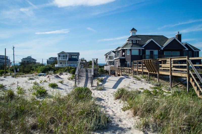 "Strand de Huizen†""Zomer in Hamptons royalty-vrije stock fotografie"