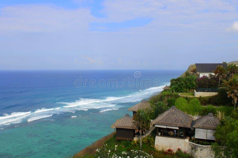 Strand in der Insel Indonesien lizenzfreie stockbilder