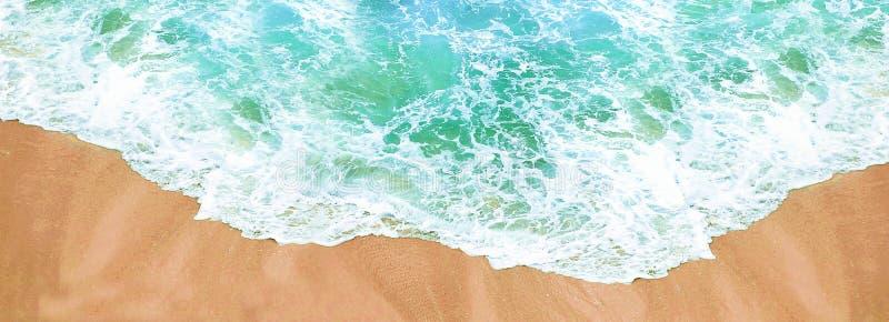 Strand en overzees close-up royalty-vrije stock fotografie