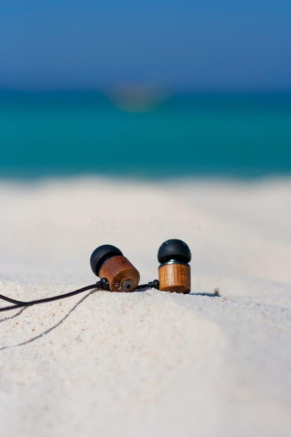 Strand en tropische overzees stock foto's