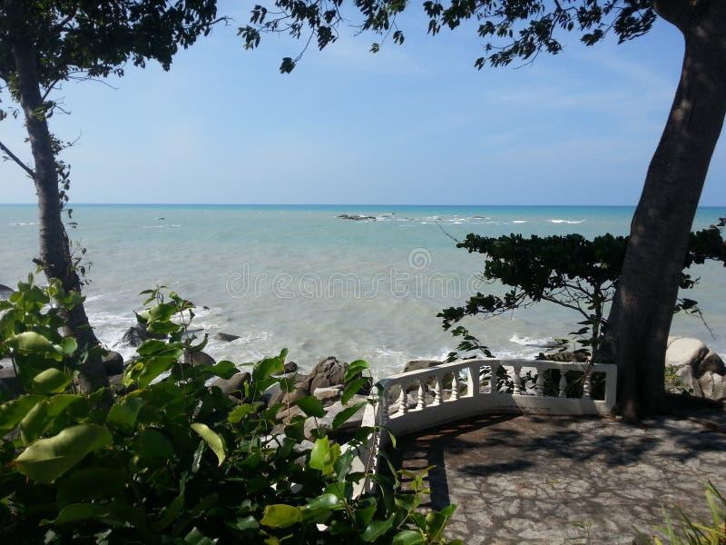 Strand för Bangka ö fotografering för bildbyråer