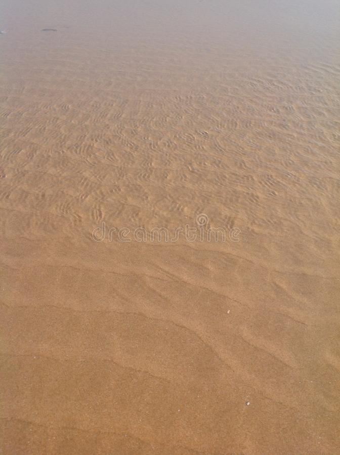 Strand för dag-D royaltyfri foto