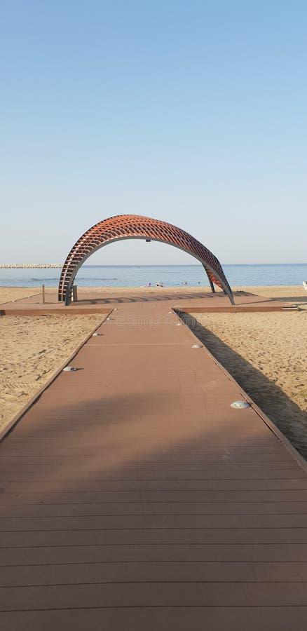 Strand för Oman muscatalmouj royaltyfri bild