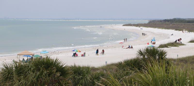 Strand för St pete, stranden #5 i Amerika royaltyfri fotografi