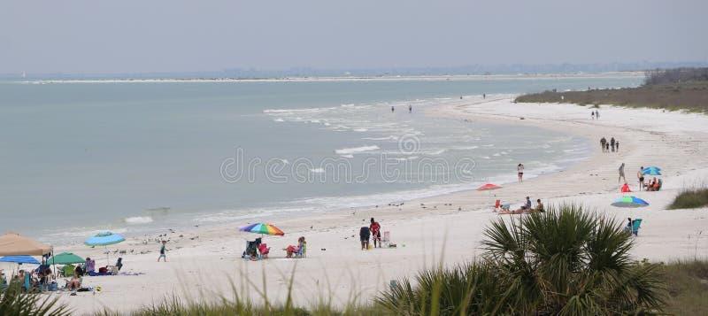 Strand för St pete, stranden #5 i Amerika fotografering för bildbyråer