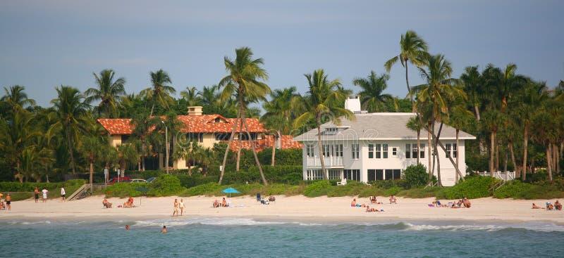 strand florida södra miami royaltyfri foto