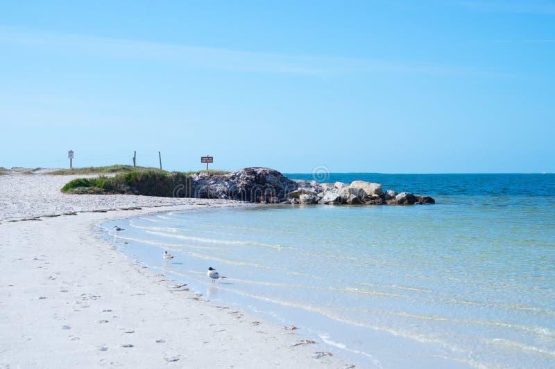 Strand Floridas Palm Harbor lizenzfreie stockfotos
