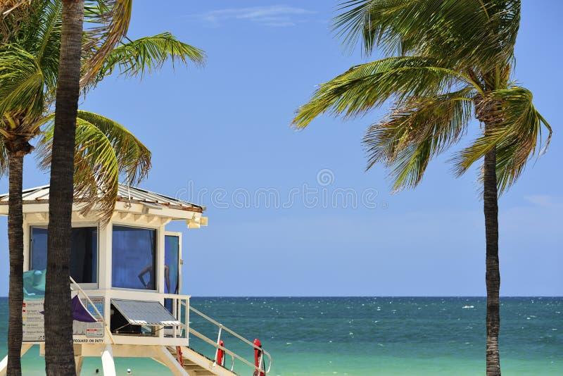 strand Fort Lauderdale arkivfoton