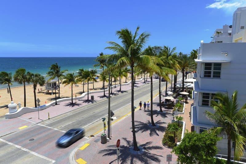 strand Fort Lauderdale arkivfoto