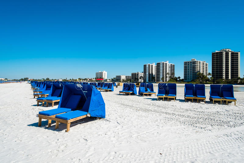 strand Fort Myers arkivfoto