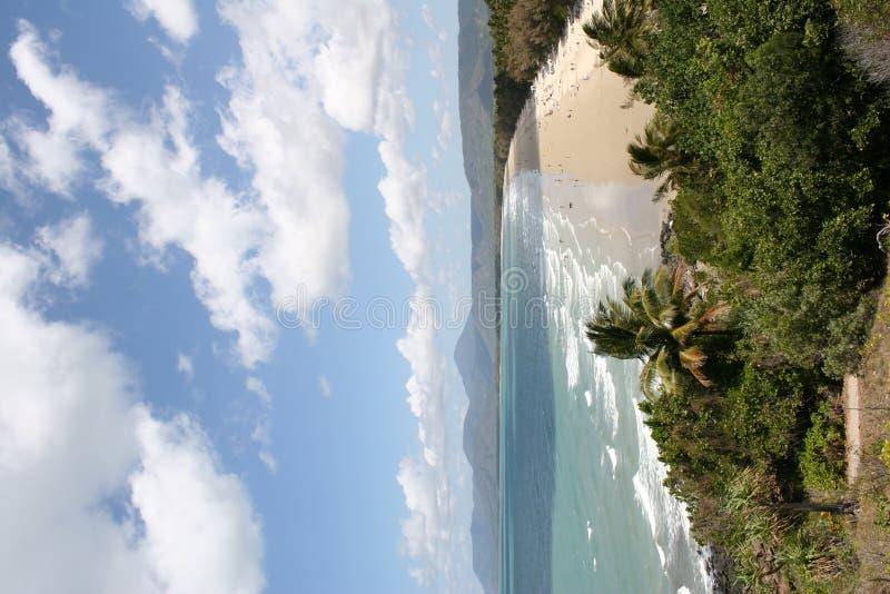 strand fyra mile royaltyfri fotografi