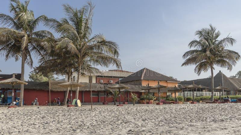 Strand in Gambia stock fotografie