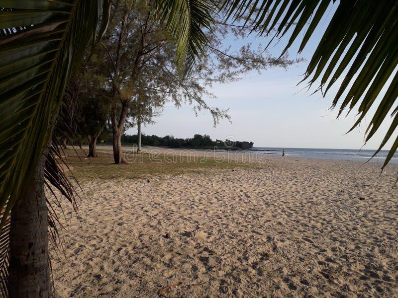 Strand Hafen Dickson Malaysia lizenzfreies stockfoto