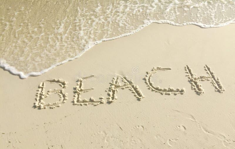 Strand, havsol och sand royaltyfria foton