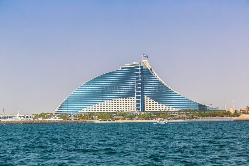 Strand-Hotel Dubai-Jumeirah stockbilder
