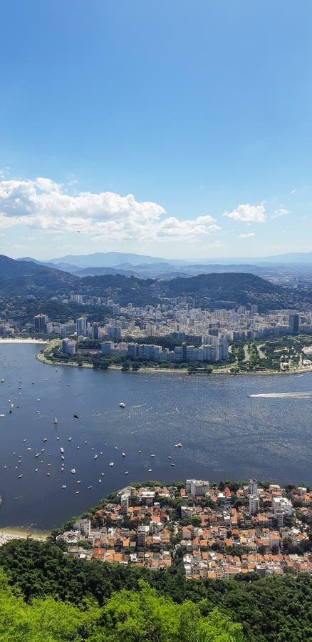 Strand i Rio de Janeiro, Brasilien royaltyfri bild