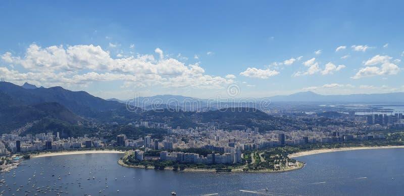 Strand i Rio de Janeiro, Brasilien royaltyfri fotografi