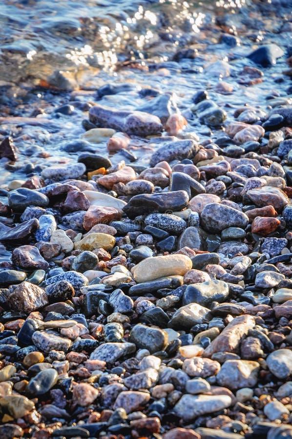 Strand i Taba royaltyfri bild