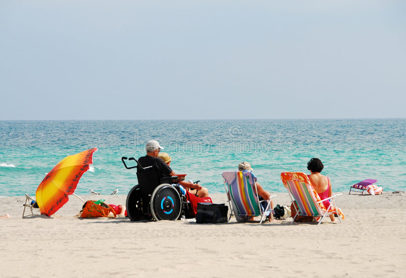 strand inaktiverad handelsresande royaltyfri bild