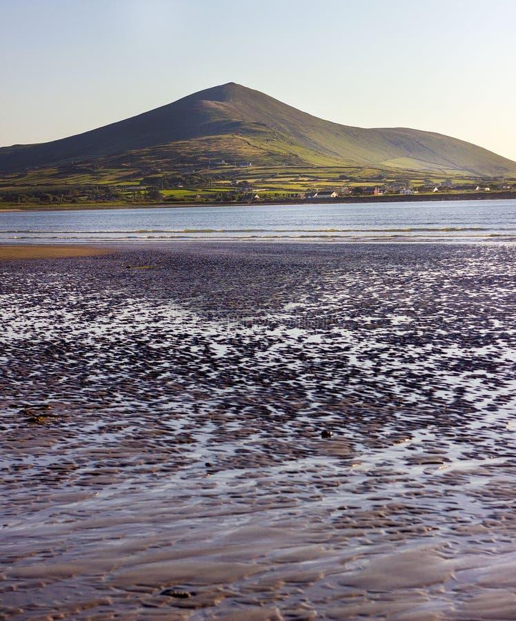 Strand in Irland lizenzfreie stockfotos