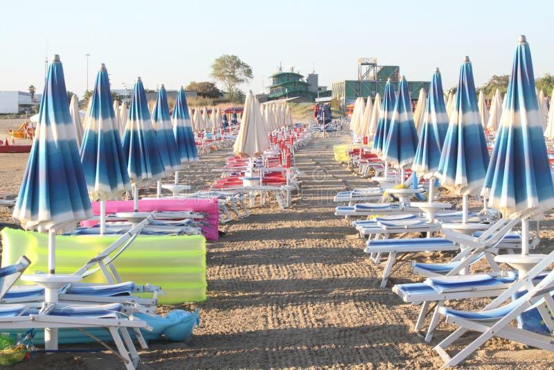 Strand in Italië royalty-vrije stock fotografie