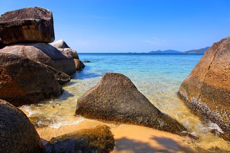 Strand in Ko Lanta, Thailand royalty-vrije stock foto's