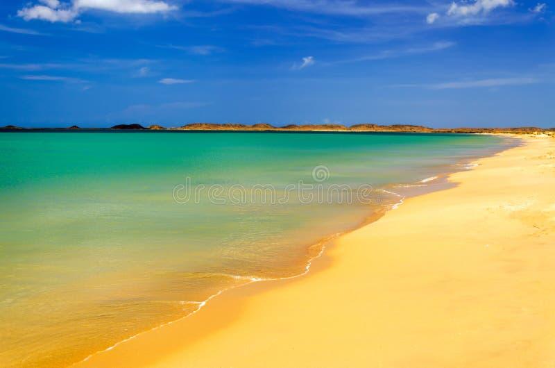 Strand in La Guajira royalty-vrije stock foto