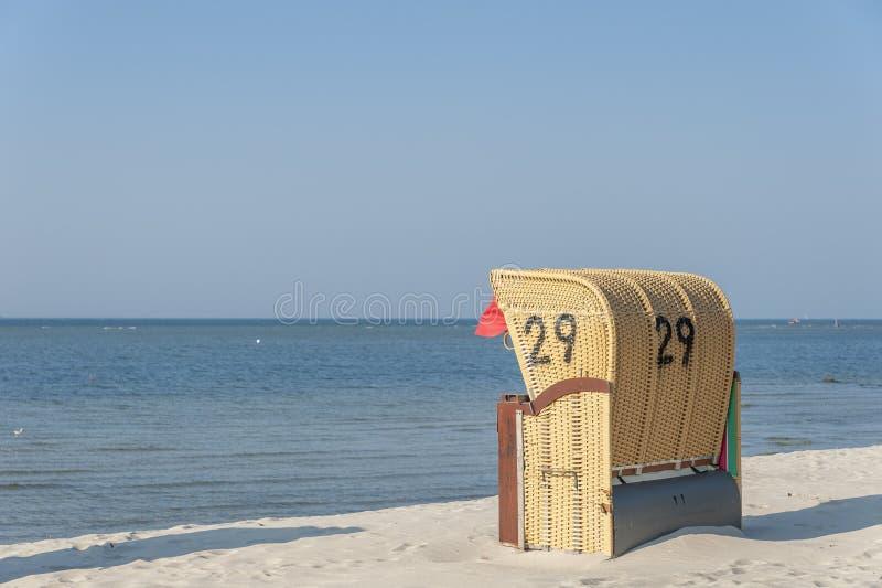 Strand in Laboe stock foto