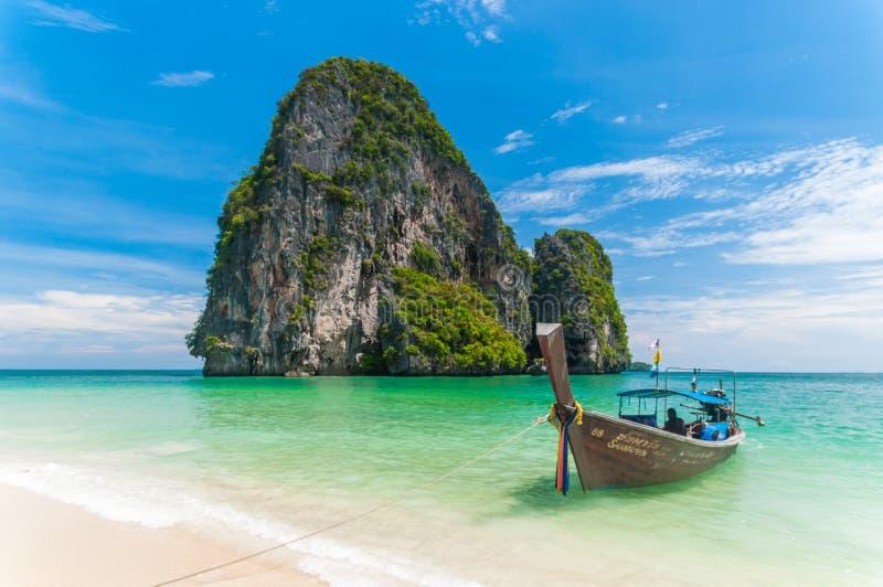 Strand Laem Phra Nang, Krabi, Thailand, Asien lizenzfreies stockbild