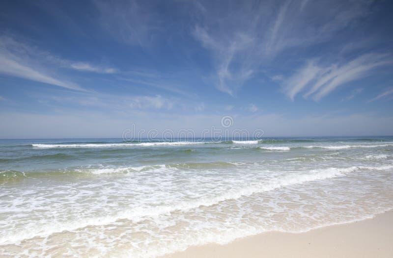 Strand-landskap från Portugal arkivfoto