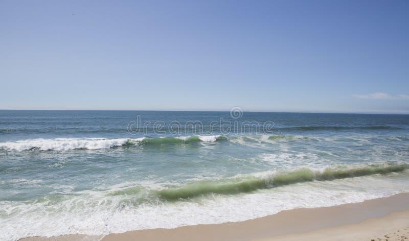 Strand-landskap från Portugal royaltyfri bild