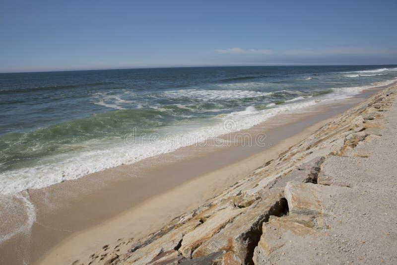 Strand-landskap från Portugal royaltyfri foto