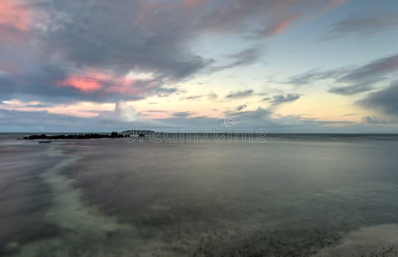Strand in Las Croabas, Puerto Rico stock afbeelding
