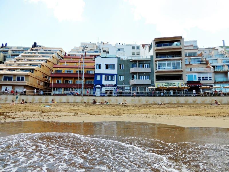 Strand Las Palmas de Gran Canaria lizenzfreie stockbilder