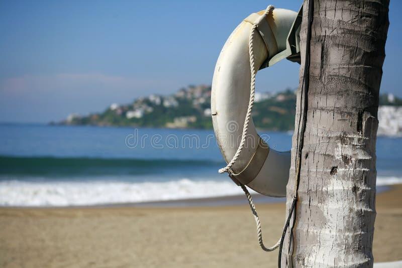 Strand-Lebensretter lizenzfreie stockfotografie