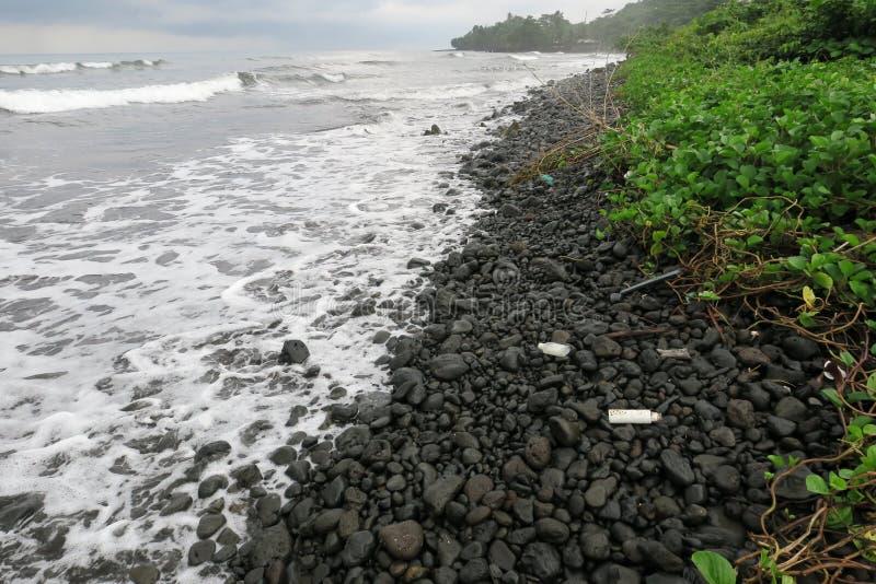 Strand in Limbe stockbilder