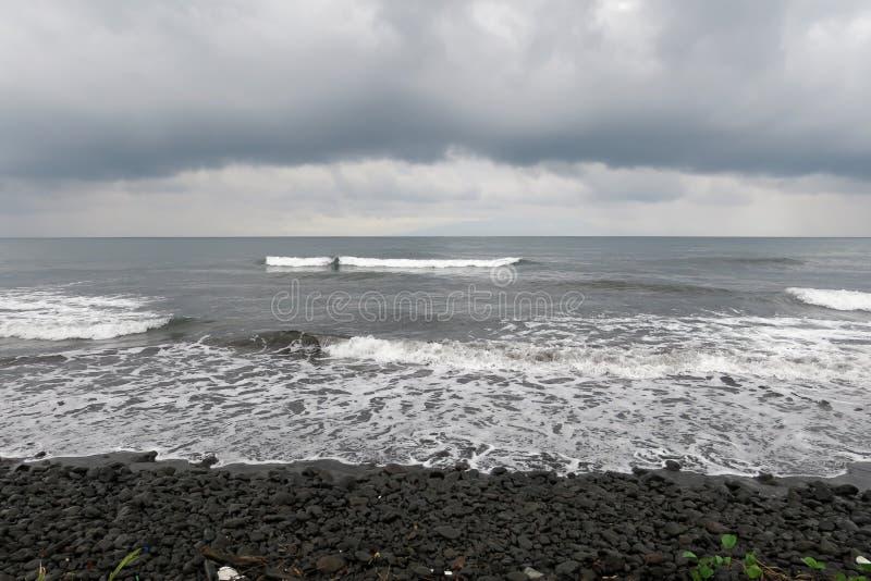 Strand in Limbe lizenzfreie stockfotos
