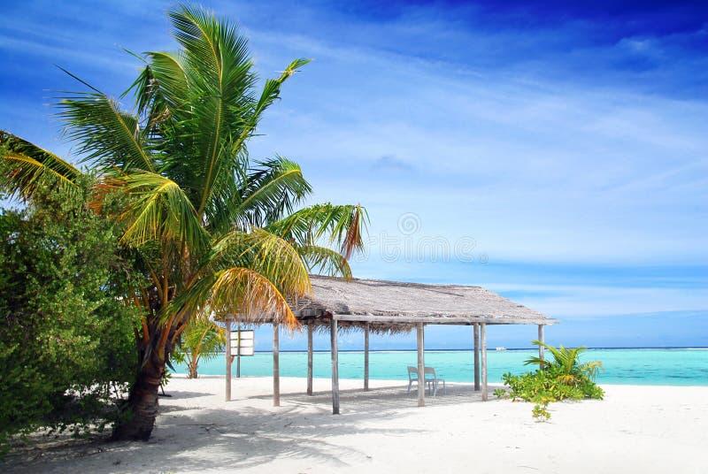 Strand in Maldives lizenzfreie stockfotografie