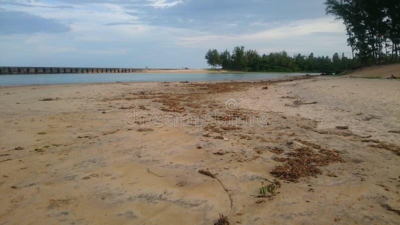 Strand Manakara stock afbeelding