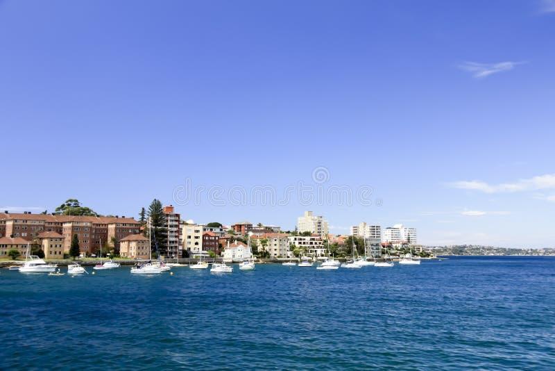 strand manly sydney royaltyfri bild