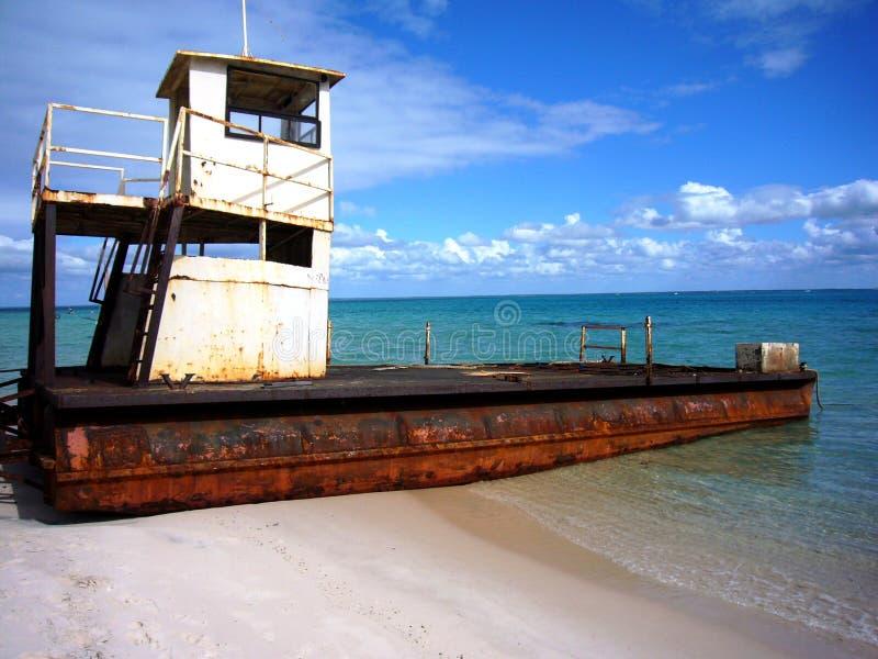 strand mozambique royaltyfri bild