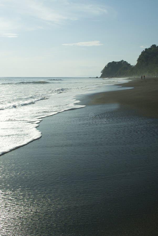 Costarikansk strand fotografering för bildbyråer