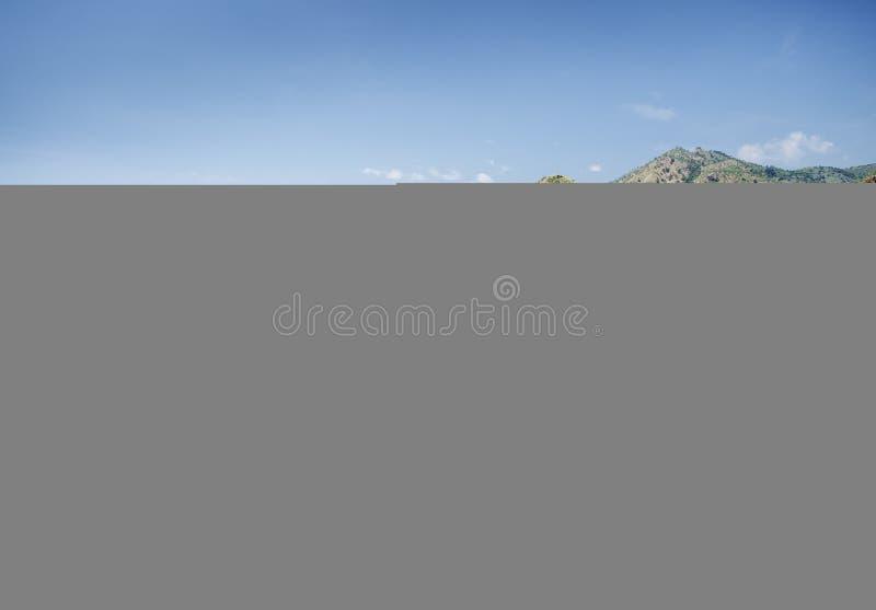 Strand nahe Dili Osttimor, Osttimor stockfoto