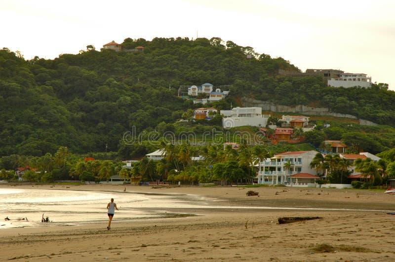 Strand in Nicaragua royalty-vrije stock fotografie